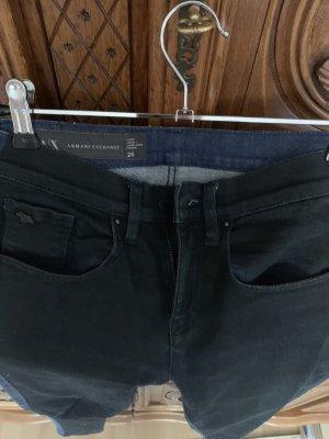 Armani Exchange Jeans skinny noir-bleu foncé