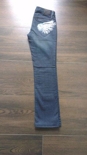 Armani Exchange Jeans mit Flügeln US 4 - EU 36 dunkelblau