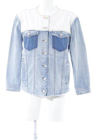 Armani Exchange Veste en jean multicolore style décontracté