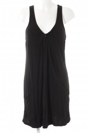 Armani Exchange Jerseykleid schwarz Casual-Look