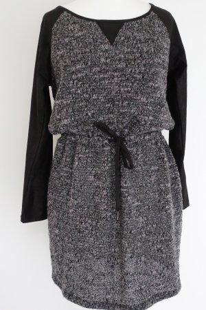 Armani Exchange Jurk zwart-donkergrijs Polyester