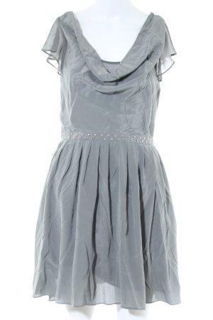 Armani Exchange Shortsleeve Dress light grey elegant