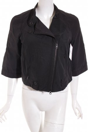 Armani Exchange Kurzjacke schwarz Casual-Look