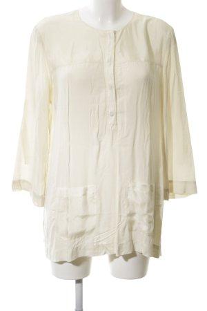 Armani Exchange Langarm-Bluse creme Elegant