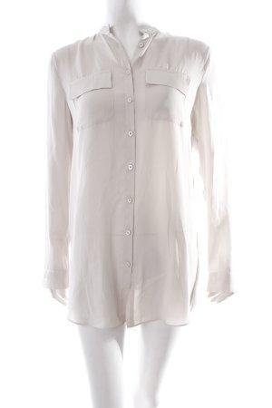 Armani Exchange Langarm-Bluse beige-grau