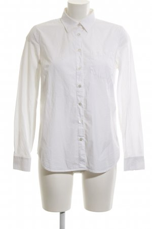 Armani Exchange Camisa de manga larga blanco estilo «business»