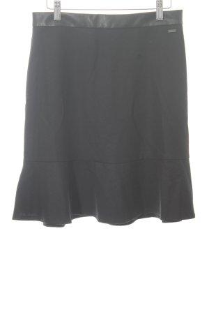 Armani Exchange Mini-jupe noir style classique