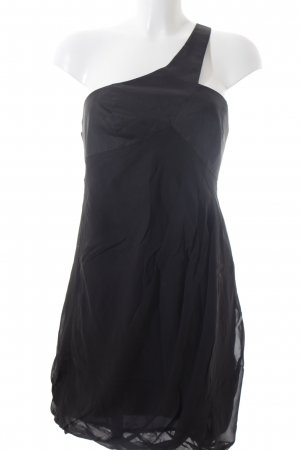 Armani Exchange One-Shoulder-Kleid schwarz Elegant