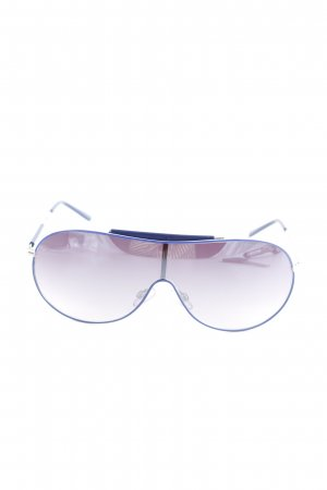 Armani Exchange Gafas de piloto azul-color plata look casual
