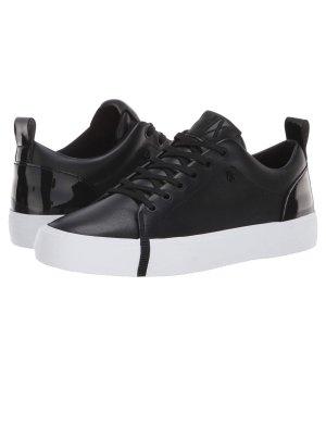 Armani Exchange Lace-Up Sneaker black-white