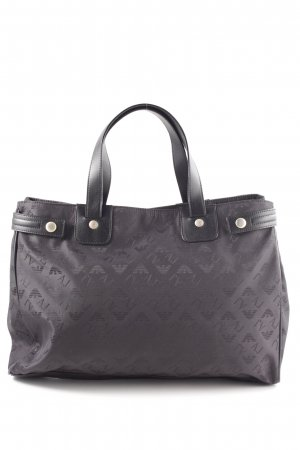 Armani Exchange Shopper light grey flecked casual look