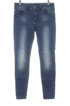 Armani Exchange Skinny Jeans stahlblau Farbverlauf Casual-Look