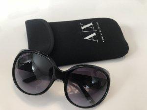 Armani Exchange Sunglasses black-silver-colored
