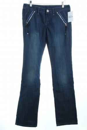 Armani Exchange Straight-Leg Jeans blau Casual-Look