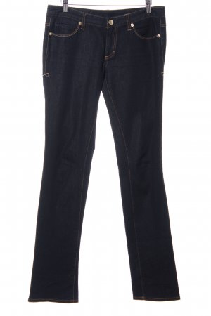 Armani Exchange Straight-Leg Jeans dunkelblau Casual-Look