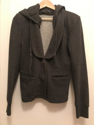 Armani Exchange Sweat-Blazer dunkelgrau