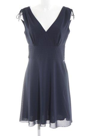 Armani Exchange Trägerkleid blau Karomuster Elegant