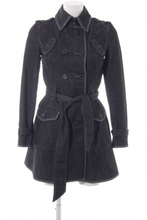 Armani Exchange Between-Seasons-Coat black-dark blue simple style