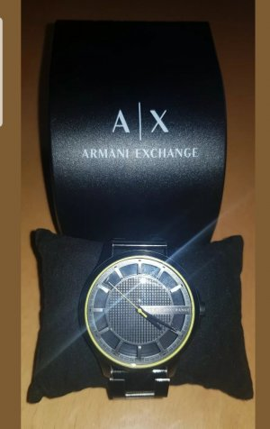 Armani Exchange Self-Winding Watch black
