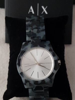 Armani Exchange Analog Watch black-light grey synthetic material