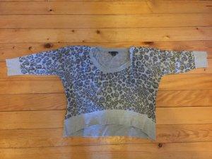 Armani Exchange - weicher Knit-Kurzpullover mit Print