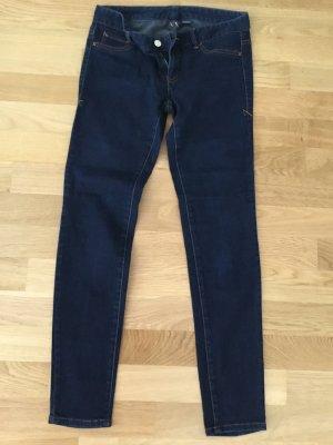 Armani Exchange Jeans skinny bleu foncé-bleu