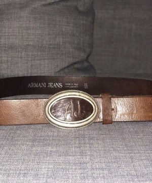 Armani Leather Belt brown