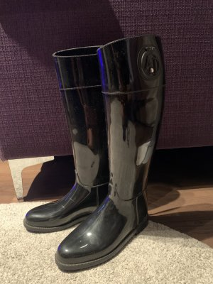 Armani Wellies black