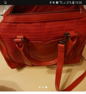 Armani Handbag dark red