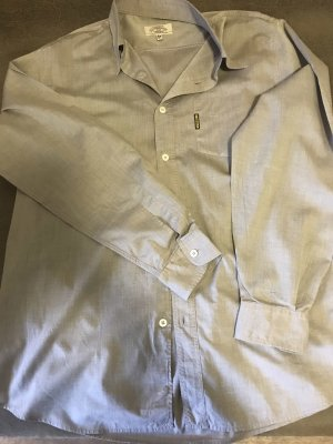 Armani Long Sleeve Shirt light grey