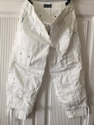 Armani 3/4 Length Trousers white cotton