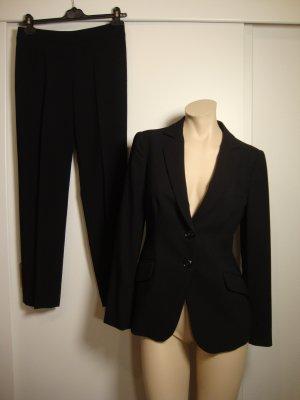 Armani Collezioni Costume business noir tissu mixte