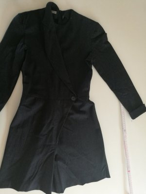 Armani Dress anthracite-taupe mixture fibre