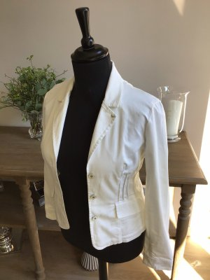 Armani Denim Jacket white