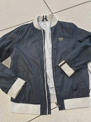 Armani Between-Seasons Jacket grey-dark blue