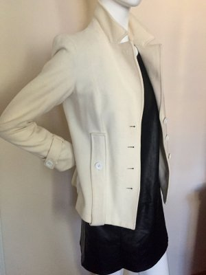 Armani Wool Blazer white-natural white wool