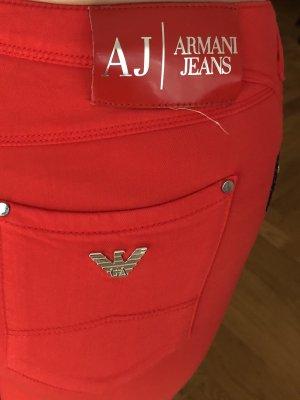 Armani Jeans Tube jeans rood