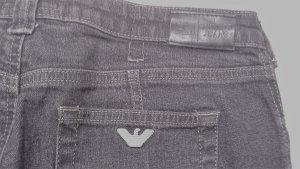 Armani Jeans Drainpipe Trousers black