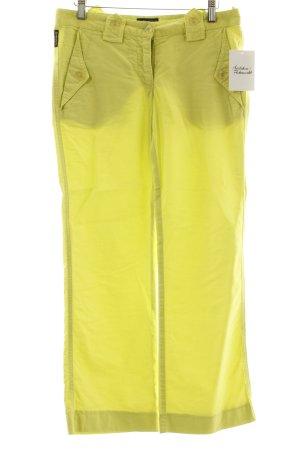 Armani Jeans 7/8-Hose neongelb sportlicher Stil