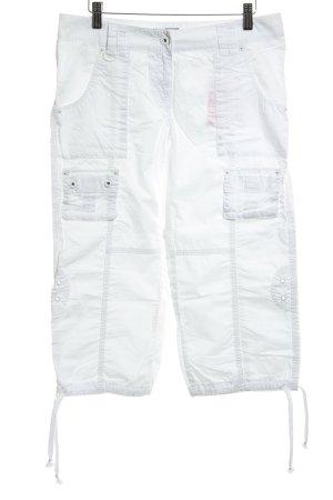 Armani Jeans 7/8-broek wit atletische stijl