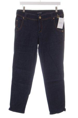 Armani Jeans 7/8 Jeans dunkelblau Casual-Look
