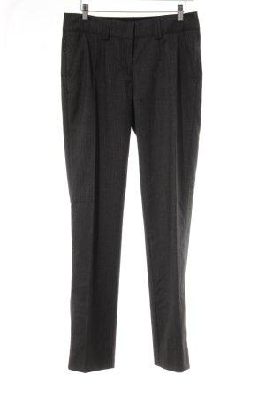 Armani Jeans Pantalone da abito grigio-grigio scuro gessato stile professionale