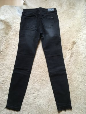 Armani Exchange Jeans skinny gris anthracite-taupe coton