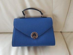 Armani Jeans Handbag neon blue-dark grey