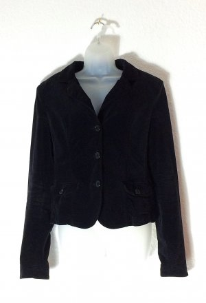 Armani Short Blazer black cotton