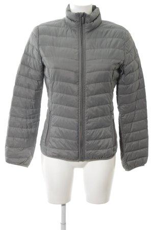 Armani Jeans Giacca bomber grigio chiaro motivo trapuntato stile casual