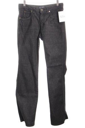 Armani Jeans Boot Cut Jeans schwarz schlichter Stil