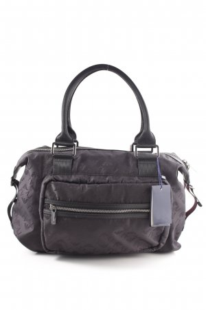 Armani Jeans Bowling Bag lilac casual look