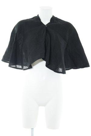 Armani Jeans Capa negro look casual