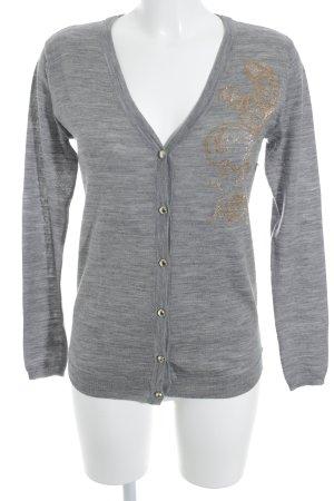 Armani Jeans Cardigan gris style décontracté
